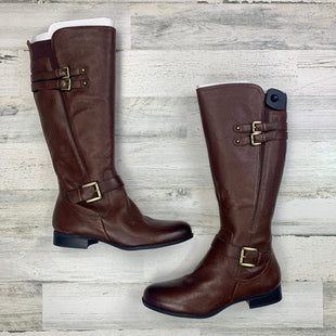 Primary Photo - BRAND: NATURALIZER STYLE: BOOTS KNEE COLOR: BROWN SIZE: 12 SKU: 258-25877-20785