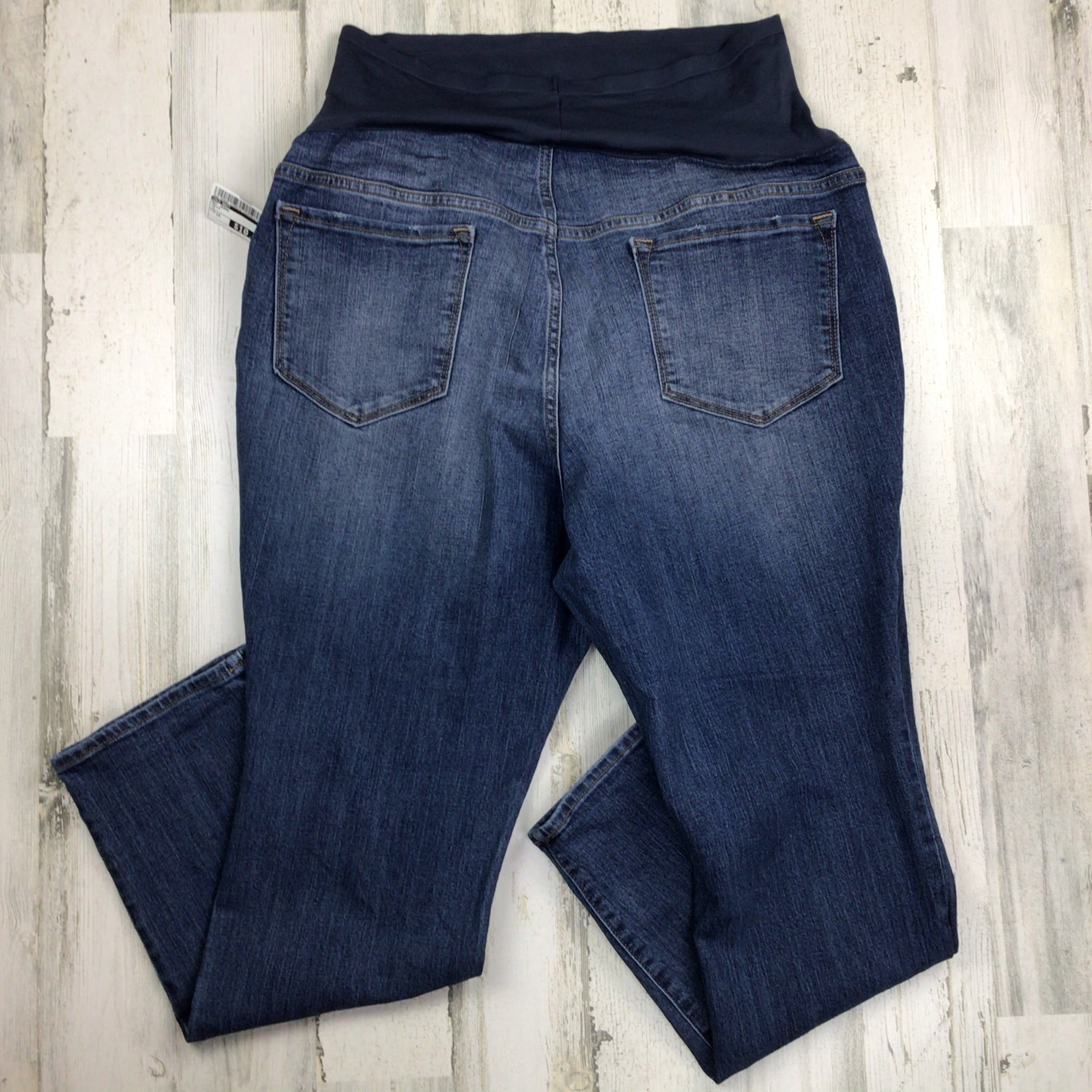 Photo #1 - BRAND: OLD NAVY <BR>STYLE: MATERNITY JEANS <BR>COLOR: DENIM <BR>SIZE: 1X <BR>SKU: 258-25885-32885