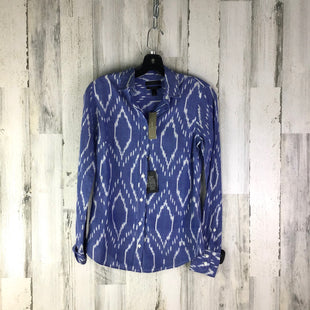 Primary Photo - BRAND: J CREW STYLE: TOP LONG SLEEVE COLOR: BLUE SIZE: XS OTHER INFO: NWT SKU: 258-258113-4079