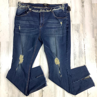 Primary Photo - BRAND:    LUCKY AND BLESSEDSTYLE: JEANS COLOR: DENIM SIZE: 22 OTHER INFO: LUCKY AND BLESSED FRINGE DETAIL SKU: 258-25877-16821
