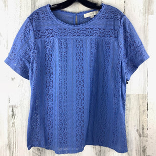 Primary Photo - BRAND: LOFT STYLE: TOP SHORT SLEEVE COLOR: BLUE SIZE: XL SKU: 258-25898-10459