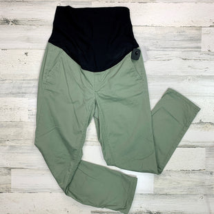 Primary Photo - BRAND: LOFT STYLE: MATERNITY PANT COLOR: OLIVE SIZE: M SKU: 258-25898-12425