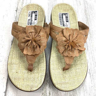Primary Photo - BRAND: ORTHAHEELSTYLE: SANDALS FLAT COLOR: TAN SIZE: 8 OTHER INFO: ORTHAHEEL SKU: 258-258113-11987