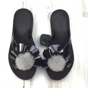Primary Photo - BRAND: UGG STYLE: FLIP FLOPS COLOR: BLACK SIZE: 7 OTHER INFO: POPPY THONG SKU: 258-25871-13148