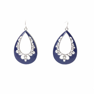Primary Photo - BRAND: PREMIER DESIGNS STYLE: EARRINGS COLOR: NAVY OTHER INFO: 2 TEARDROP SKU: 258-25873-37100