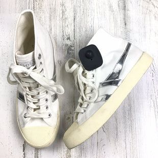 Primary Photo - BRAND: J CREW STYLE: SHOES FLATS COLOR: WHITE SIZE: 6 OTHER INFO: HIGHTOP SNEAKERS  *BS*SKU: 258-258111-8242
