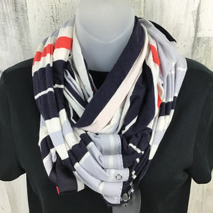 Primary Photo - BRAND: LULULEMON STYLE: SCARF COLOR: NAVY OTHER INFO: STRIPED BLUE PEACH CREAM SKU: 258-25885-31904
