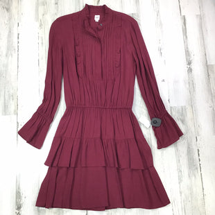 Primary Photo - BRAND: GAP STYLE: DRESS SHORT LONG SLEEVE COLOR: RED SIZE: XS OTHER INFO: NWT! BUTTONS SKU: 258-258100-2751