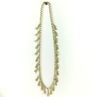 Primary Photo - BRAND: KENDRA SCOTT JEWLERY STYLE: NECKLACE COLOR: GOLD OTHER INFO: C14  GOLD TASSELS SKU: 258-258113-10108