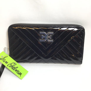 Primary Photo - BRAND: SAM EDELMAN STYLE: WALLET COLOR: BLACK SIZE: SMALL OTHER INFO: NWT PATENT SKU: 258-25894-21449