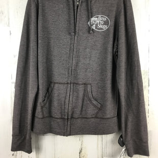 Primary Photo - BRAND:    CLOTHES MENTOR STYLE: ATHLETIC TOP COLOR: GREY SIZE: M OTHER INFO: BASS PRO ZIP UP SKU: 258-25877-20481