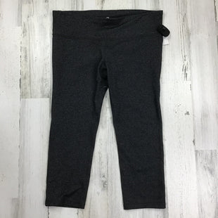 Primary Photo - BRAND: GAPFIT STYLE: ATHLETIC CAPRIS COLOR: GREY SIZE: L OTHER INFO: HEATHERED SKU: 258-25873-35620