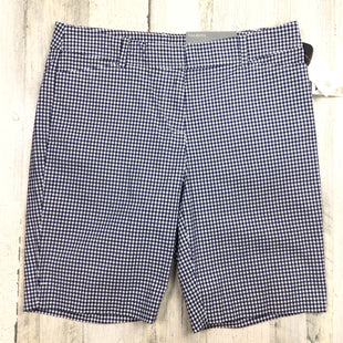 Primary Photo - BRAND: TALBOTS STYLE: SHORTS COLOR: GINGHAM SIZE: 6 OTHER INFO: NWT $60 NAVY WHITE SKU: 258-25811-13034