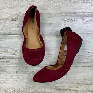 Primary Photo - BRAND: MOSSIMO STYLE: SHOES FLATS COLOR: BURGUNDY SIZE: 5.5 OTHER INFO: AS IS BALLET FLATS SKU: 258-258111-4873