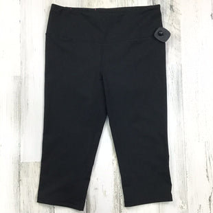 Primary Photo - BRAND: VICTORIAS SECRET STYLE: ATHLETIC CAPRIS COLOR: BLACK SIZE: M SKU: 258-25877-19358
