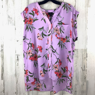 Primary Photo - BRAND: WORTHINGTON STYLE: TOP SHORT SLEEVE COLOR: LAVENDER SIZE: L SKU: 258-258111-9538