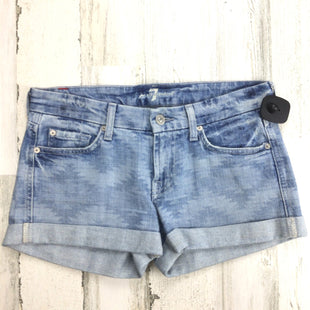 Primary Photo - BRAND: SEVEN FOR ALL MANKIND STYLE: SHORTS COLOR: DENIM BLUE SIZE: 2 SKU: 258-258113-11451