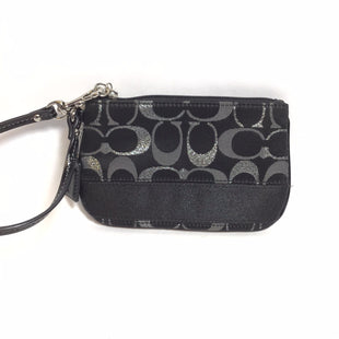 Primary Photo - BRAND: COACH STYLE: WRISTLET COLOR: BLACK SKU: 258-258113-4513
