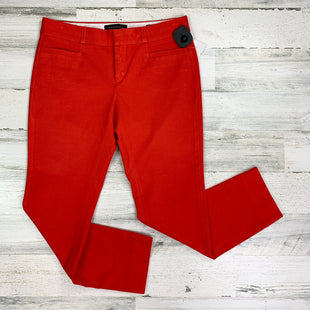 Primary Photo - BRAND: BANANA REPUBLIC STYLE: PANTS COLOR: RED SIZE: 2 OTHER INFO: PETITE SOLID SKU: 258-25873-35505