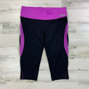 Primary Photo - BRAND: FILA STYLE: ATHLETIC CAPRIS COLOR: BLACK SIZE: M SKU: 258-25871-10087