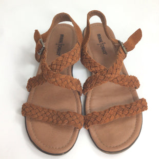 Primary Photo - BRAND: MINNETONKA STYLE: SANDALS FLAT COLOR: BROWN SIZE: 8 SKU: 258-258113-7015