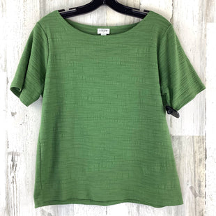 Primary Photo - BRAND: J CREW O STYLE: TOP SHORT SLEEVE COLOR: GREEN SIZE: M SKU: 258-258111-9764