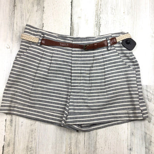 Primary Photo - BRAND: DOUBLE ZERO STYLE: SHORTS COLOR: GREY SIZE: 8 OTHER INFO: STRIPED SKU: 258-25877-18071