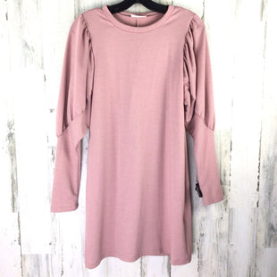 Primary Photo - BRAND: EVERLY STYLE: DRESS SHORT LONG SLEEVE COLOR: PINK SIZE: S SKU: 258-25840-16319