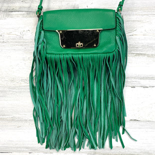 Primary Photo - BRAND: MILLY STYLE: HANDBAG DESIGNER COLOR: GREEN SIZE: SMALL OTHER INFO: ISABELLA RT $395 FRINGE PEBBLED LEATHER SKU: 258-25871-13339