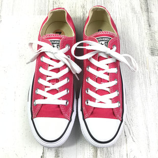Primary Photo - BRAND: CONVERSE STYLE: SHOES FLATS COLOR: HOT PINK SIZE: 7 OTHER INFO: NEW SKU: 258-258111-6045