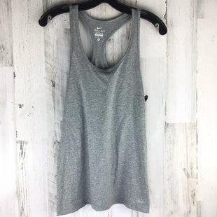 Primary Photo - BRAND: NIKE APPAREL STYLE: ATHLETIC TANK TOP COLOR: GREY SIZE: M SKU: 258-258113-12223