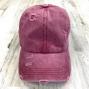 Primary Photo - BRAND:    CLOTHES MENTOR STYLE: HAT COLOR: MAROON SKU: 258-258111-12697