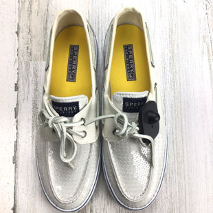 Primary Photo - BRAND: SPERRY STYLE: SHOES FLATS COLOR: WHITE SIZE: 7.5 OTHER: *BS*SKU: 258-258113-11853