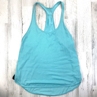 Primary Photo - BRAND: LULULEMON STYLE: ATHLETIC TANK TOP COLOR: BLUE SIZE: 6 OTHER INFO: AS IS SKU: 258-25898-13248