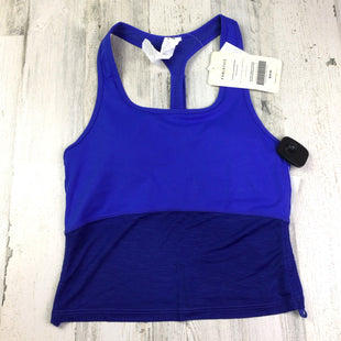 Primary Photo - BRAND: FABLETICS STYLE: ATHLETIC TANK TOP COLOR: BLUE SIZE: XS OTHER INFO: NWT RTL $49.95 CROP SKU: 258-25898-12141