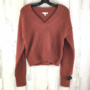 Primary Photo - BRAND: GIANNI BINI STYLE: SWEATER HEAVYWEIGHT COLOR: RUST SIZE: M OTHER INFO: NWT  RETAIL $49.00 SKU: 258-258113-10004
