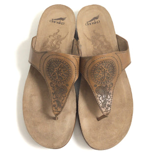 Primary Photo - BRAND: DANSKO STYLE: SANDALS FLAT COLOR: BROWN SIZE: 8 SKU: 258-258113-11985