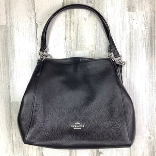 Primary Photo - BRAND: COACH STYLE: HANDBAG DESIGNER COLOR: BLACK SIZE: LARGE OTHER INFO: *NO DISCOUNT*   HALLIE 2020 SKU: 258-258113-11135