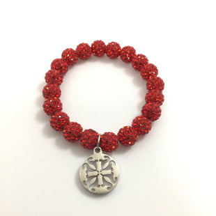 Primary Photo - BRAND: RUSTIC CUFF STYLE: BRACELET COLOR: RED OTHER INFO: 1 - EMERSON SKU: 258-25885-31850