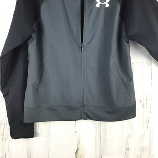 Primary Photo - BRAND: UNDER ARMOUR STYLE: ATHLETIC JACKET COLOR: GREY SIZE: M SKU: 258-25840-16639