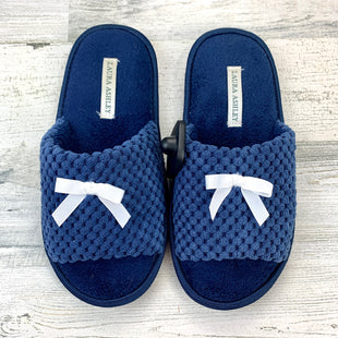 Primary Photo - BRAND: LAURA ASHLEY STYLE: SLIPPERS COLOR: NAVY SIZE: 5 SKU: 258-25873-38745