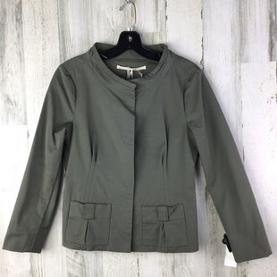 Primary Photo - BRAND:  SCHUMACHERSTYLE: JACKET OUTDOOR COLOR: OLIVE SIZE: M OTHER INFO: NWT SCHUMACHER RT $570 SKU: 258-25873-36982
