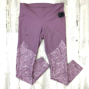 Primary Photo - BRAND: UNDER ARMOUR STYLE: ATHLETIC PANTS COLOR: PURPLE SIZE: L SKU: 258-25877-21760