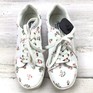 Primary Photo - BRAND: H&M STYLE: SHOES FLATS COLOR: WHITE SIZE: 8 OTHER INFO: FLORAL SKU: 258-25873-35486