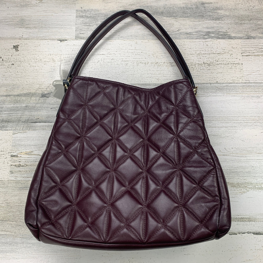 Photo #1 - BRAND: COACH <BR>STYLE: HANDBAG DESIGNER <BR>COLOR: BURGUNDY <BR>SIZE: LARGE <BR>OTHER INFO: ND! PHOEBE QUILTED <BR>SKU: 258-25871-11343