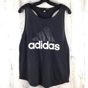 Primary Photo - BRAND: ADIDAS STYLE: ATHLETIC TANK TOP COLOR: BLACK SIZE: S SKU: 258-258111-11994