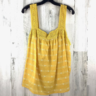 Primary Photo - BRAND: OLD NAVY STYLE: TOP SLEEVELESS COLOR: YELLOW SIZE: XL SKU: 258-258111-7482