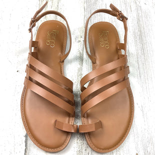 Primary Photo - BRAND: FRANCO SARTO STYLE: SANDALS FLAT COLOR: BROWN SIZE: 9 SKU: 258-25877-21614