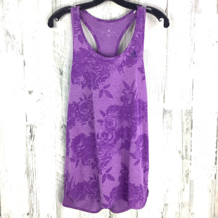 Primary Photo - BRAND: ADIDAS STYLE: ATHLETIC TANK TOP COLOR: PURPLE SIZE: M SKU: 258-25840-17068