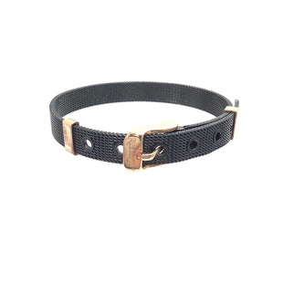 Primary Photo - BRAND: RUSTIC CUFF STYLE: BRACELET COLOR: BLACK OTHER INFO: 29   MESH SKU: 258-258113-7059